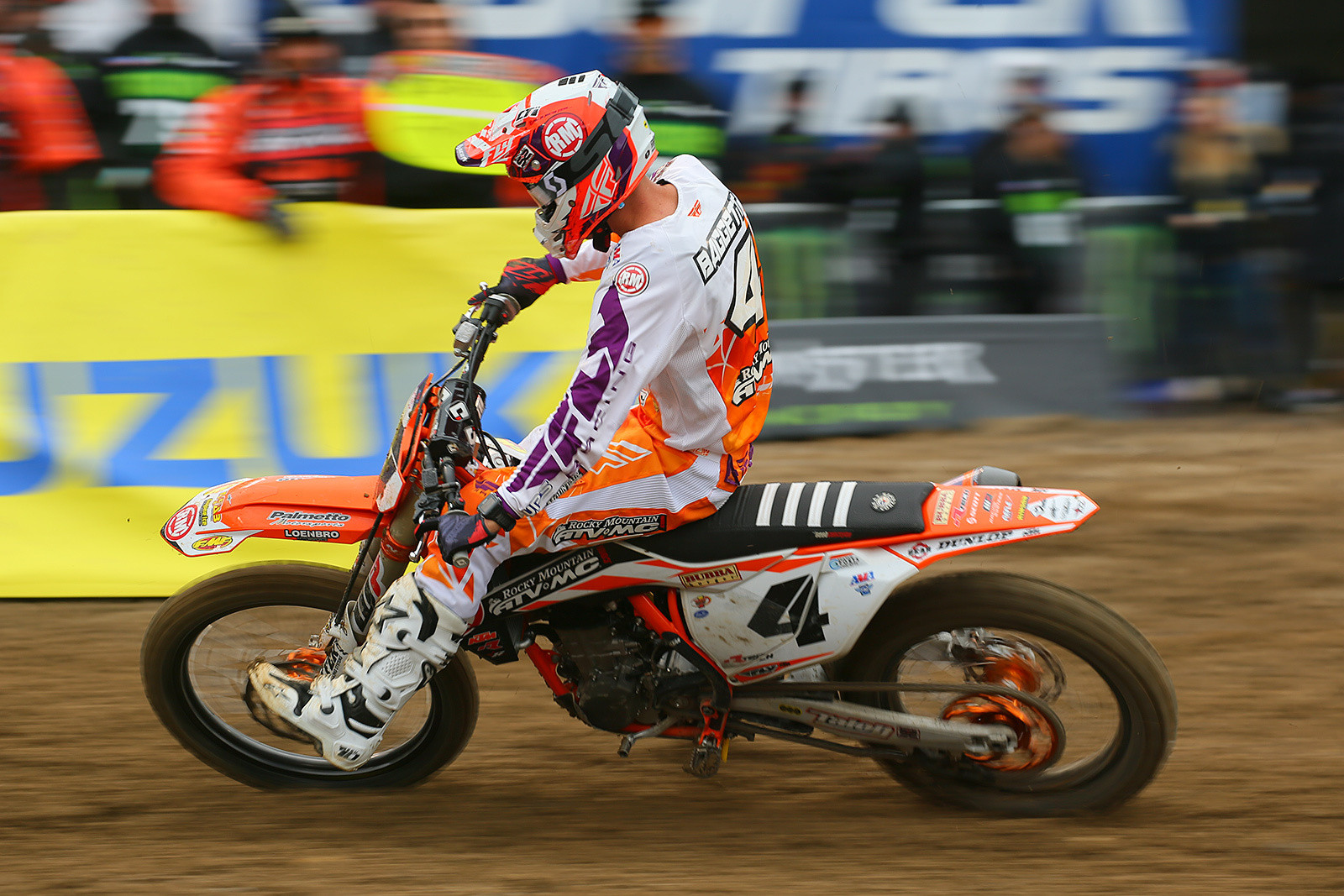 Blake Baggett - Vital MX Pit Bits: Oakland - Motocross Pictures - Vital MX