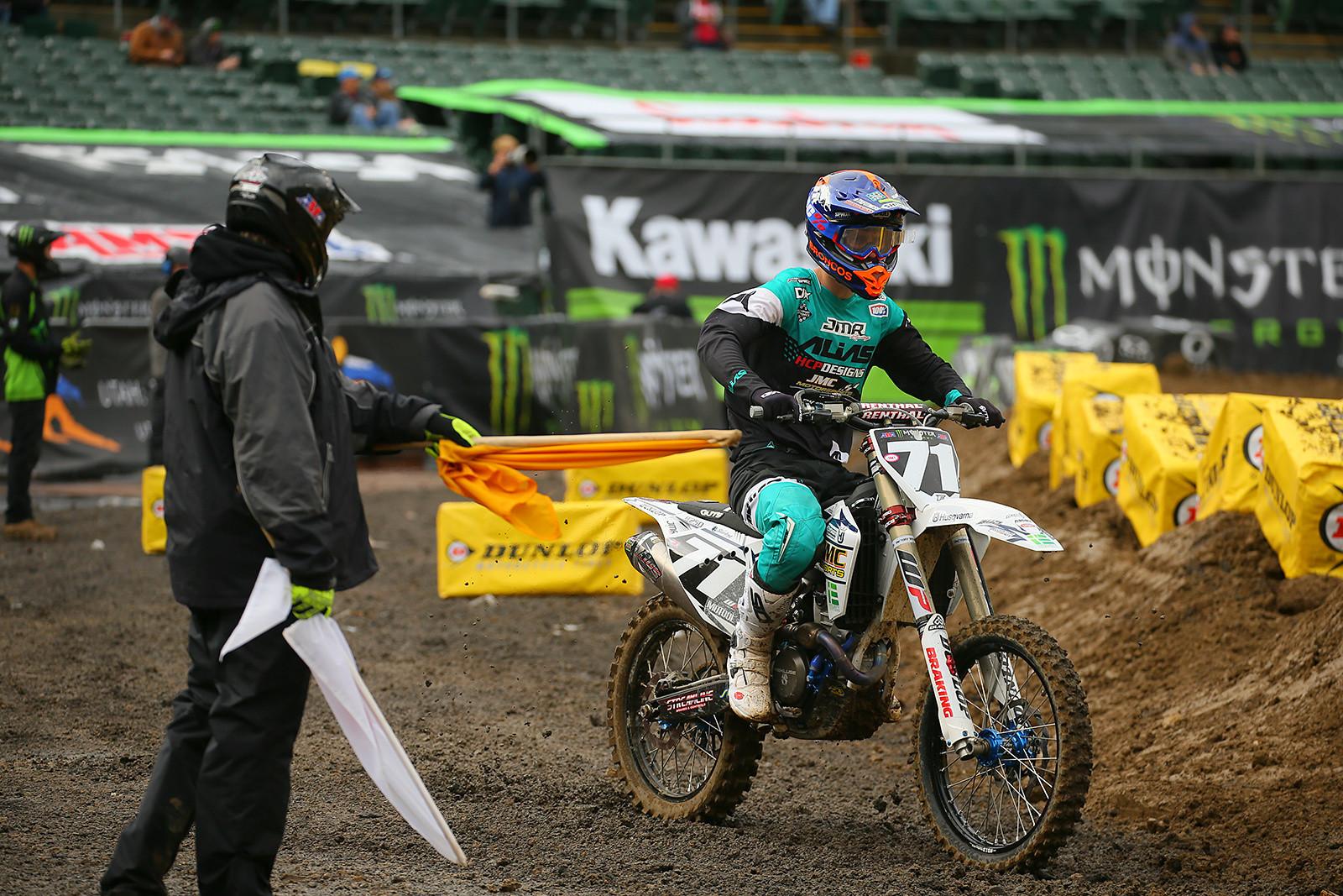 Chicane - Vital MX Pit Bits: Oakland - Motocross Pictures - Vital MX