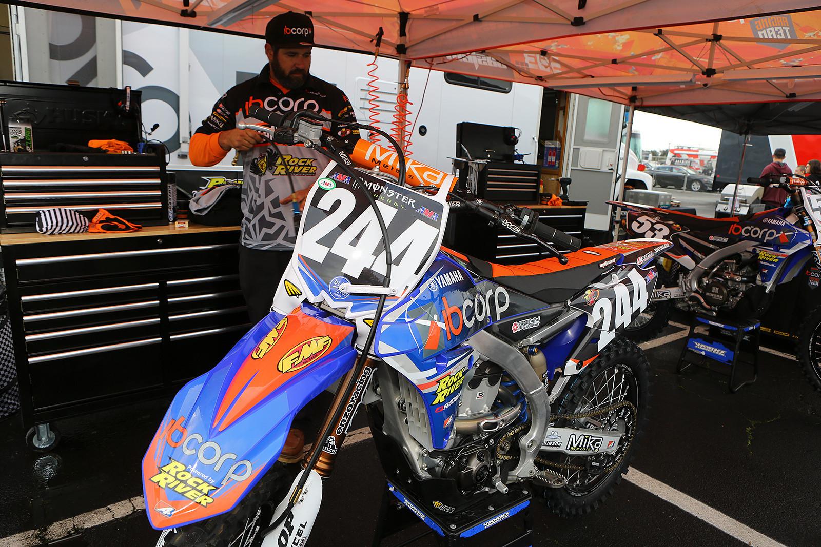 Justin Hoeft - Vital MX Pit Bits: Oakland - Motocross Pictures - Vital MX