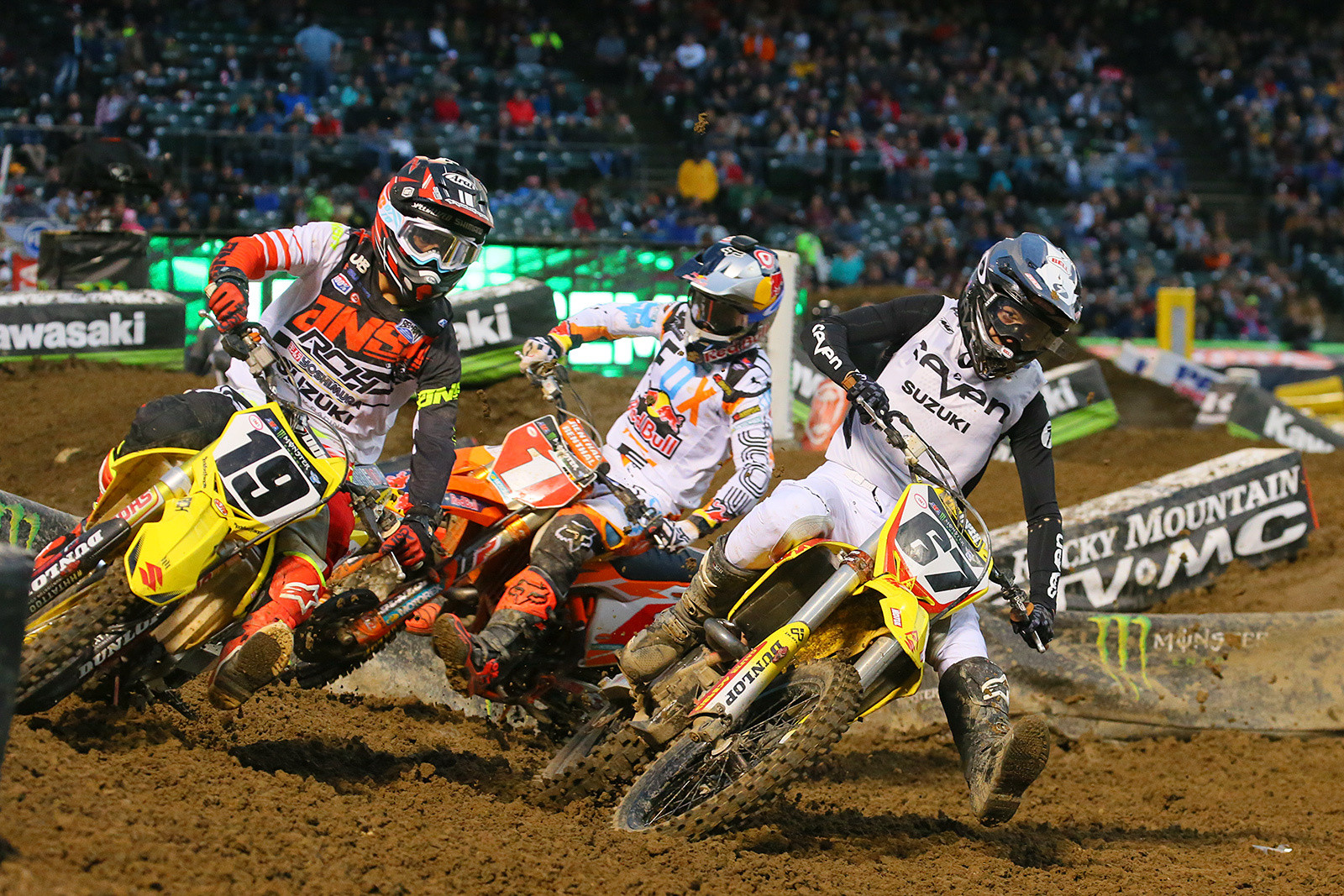 Justin Bogle, Ryan Dungey, and Jimmy Albertson - Photo Blast: Oakland - Motocross Pictures - Vital MX