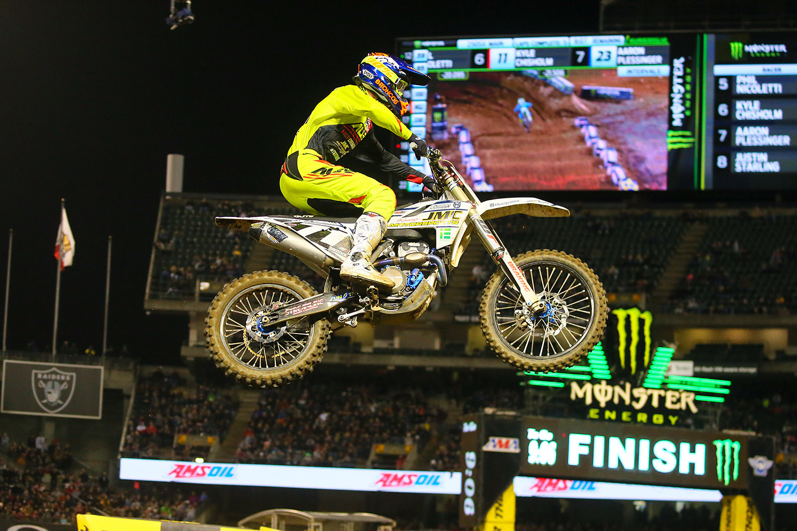 Justin Starling - Photo Blast: Oakland - Motocross Pictures - Vital MX