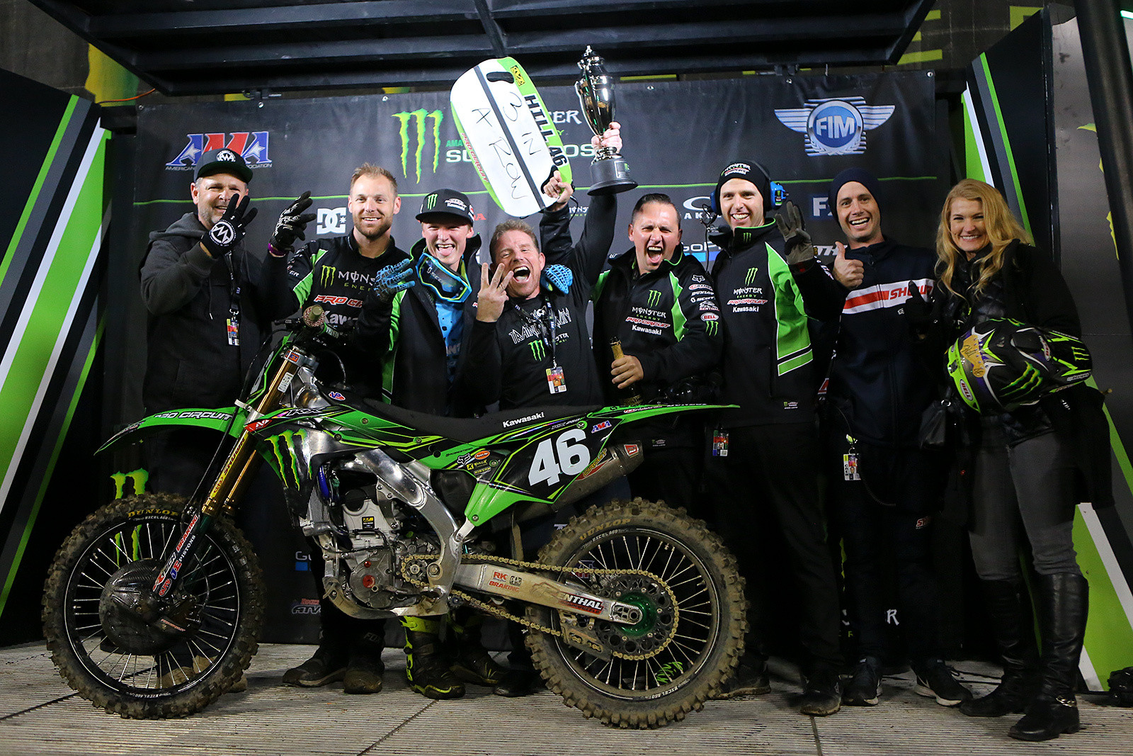 Celebration time - Photo Blast: Oakland - Motocross Pictures - Vital MX