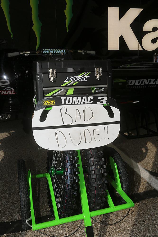 Eli Tomac - Vital MX Pit Bits: Arlington - Motocross Pictures - Vital MX