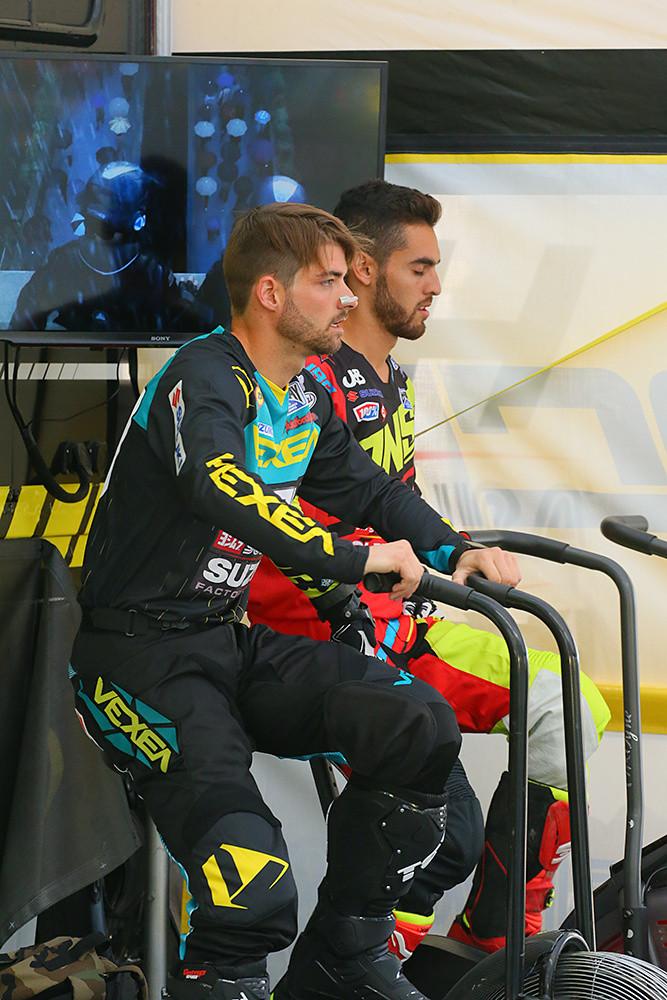 Broc Tickle and Justin Bogle - Vital MX Pit Bits: Arlington - Motocross Pictures - Vital MX
