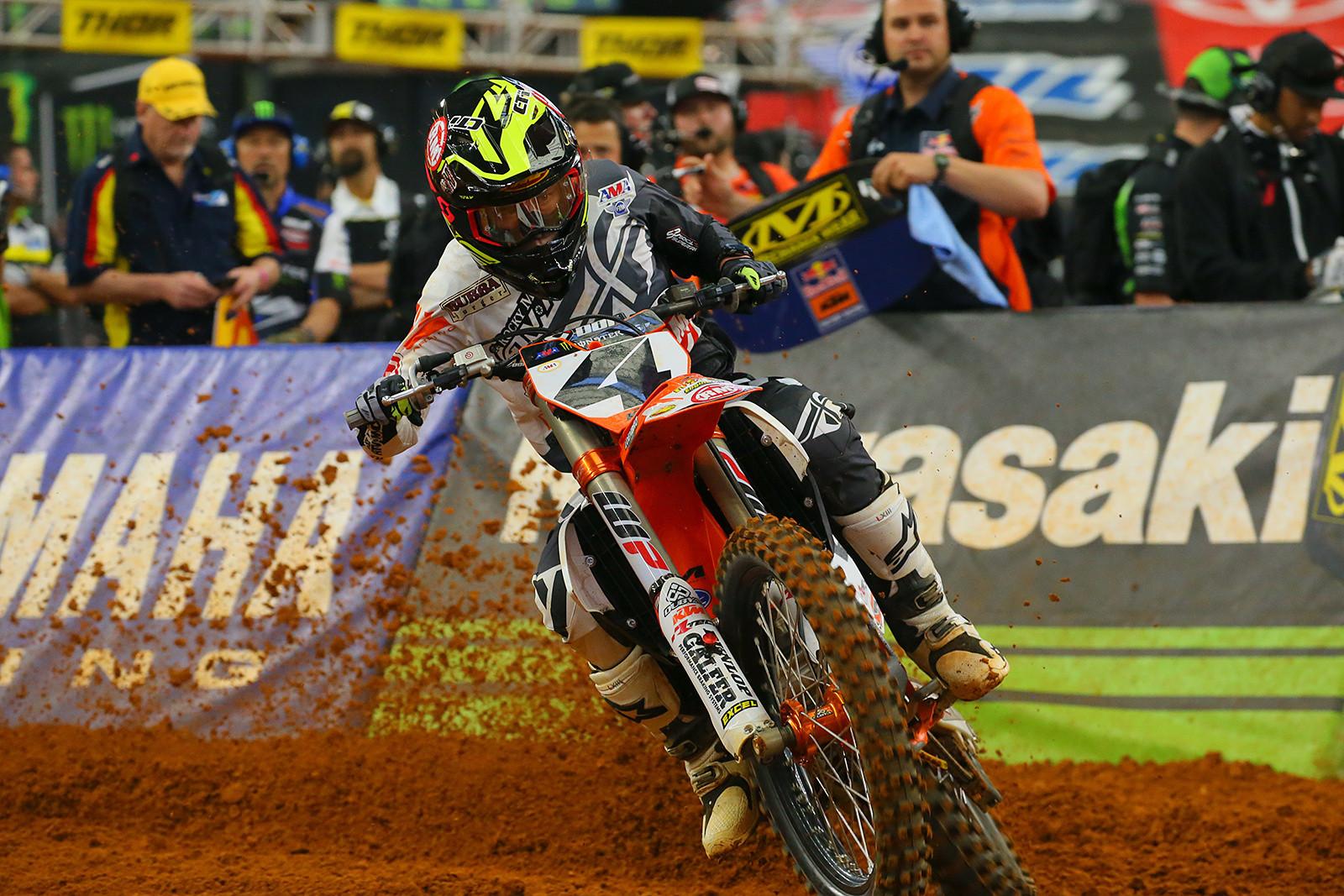 Blake Baggett - Vital MX Pit Bits: Arlington - Motocross Pictures - Vital MX