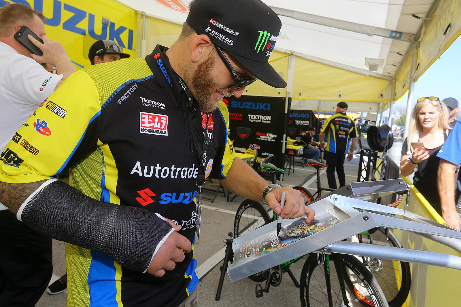 Weston Peick - Vital MX Pit Bits: Arlington - Motocross Pictures - Vital MX