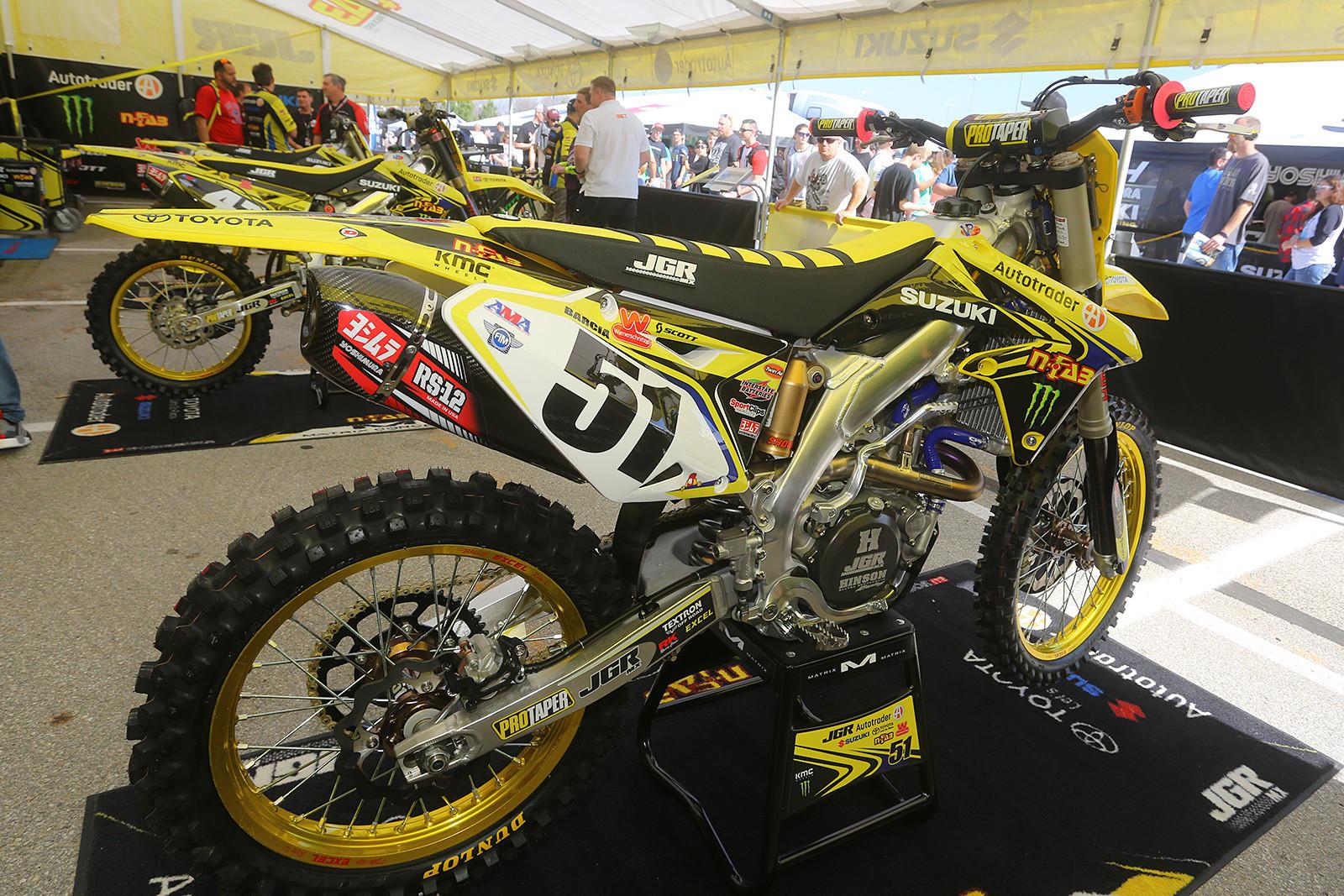 Justin Barcia - Vital MX Pit Bits: Arlington - Motocross Pictures - Vital MX