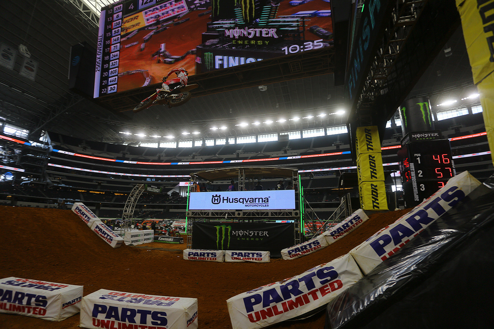 Big Screen - Vital MX Pit Bits: Arlington - Motocross Pictures - Vital MX