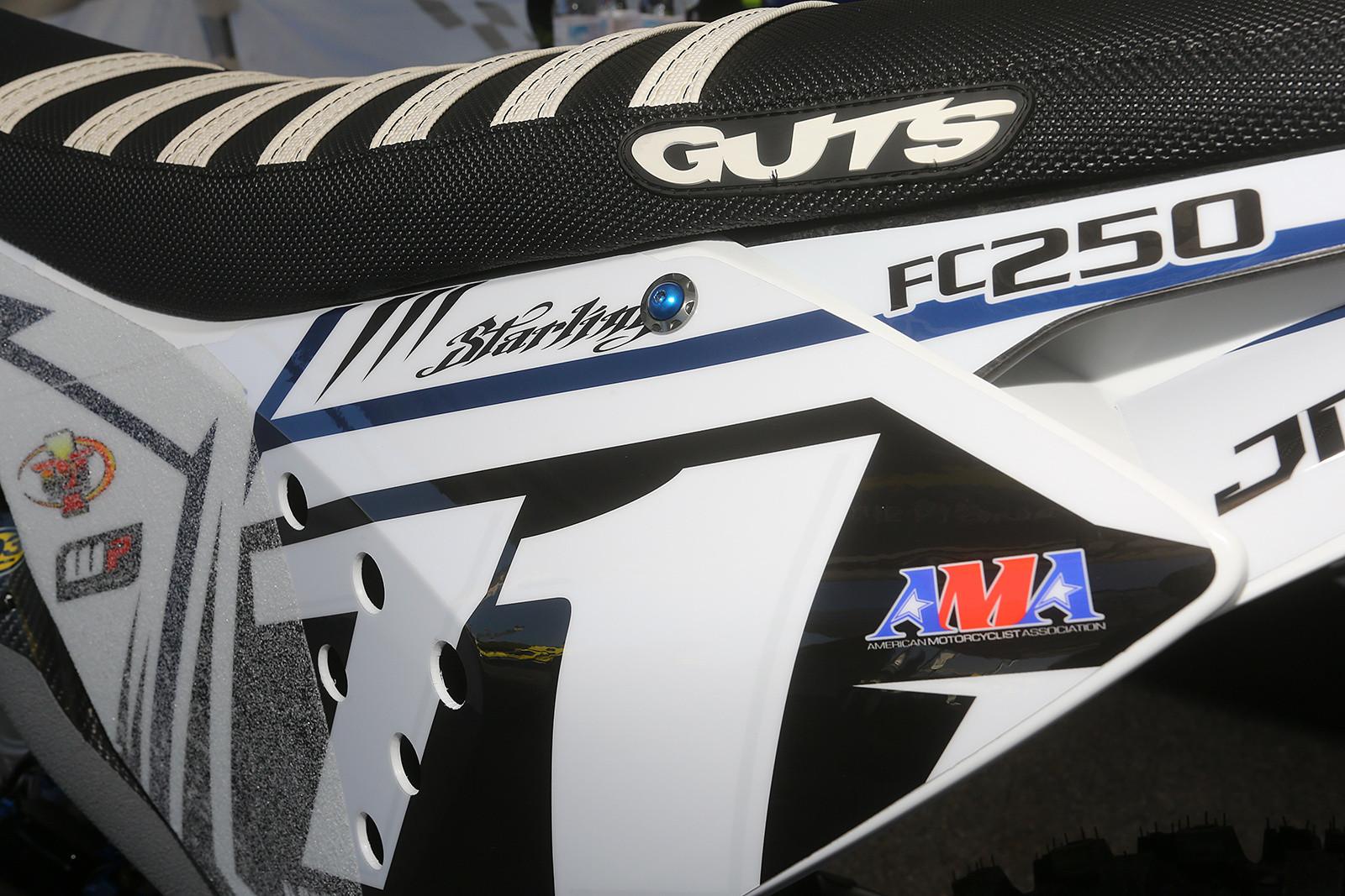 Justin Starling - Vital MX Pit Bits: Arlington - Motocross Pictures - Vital MX