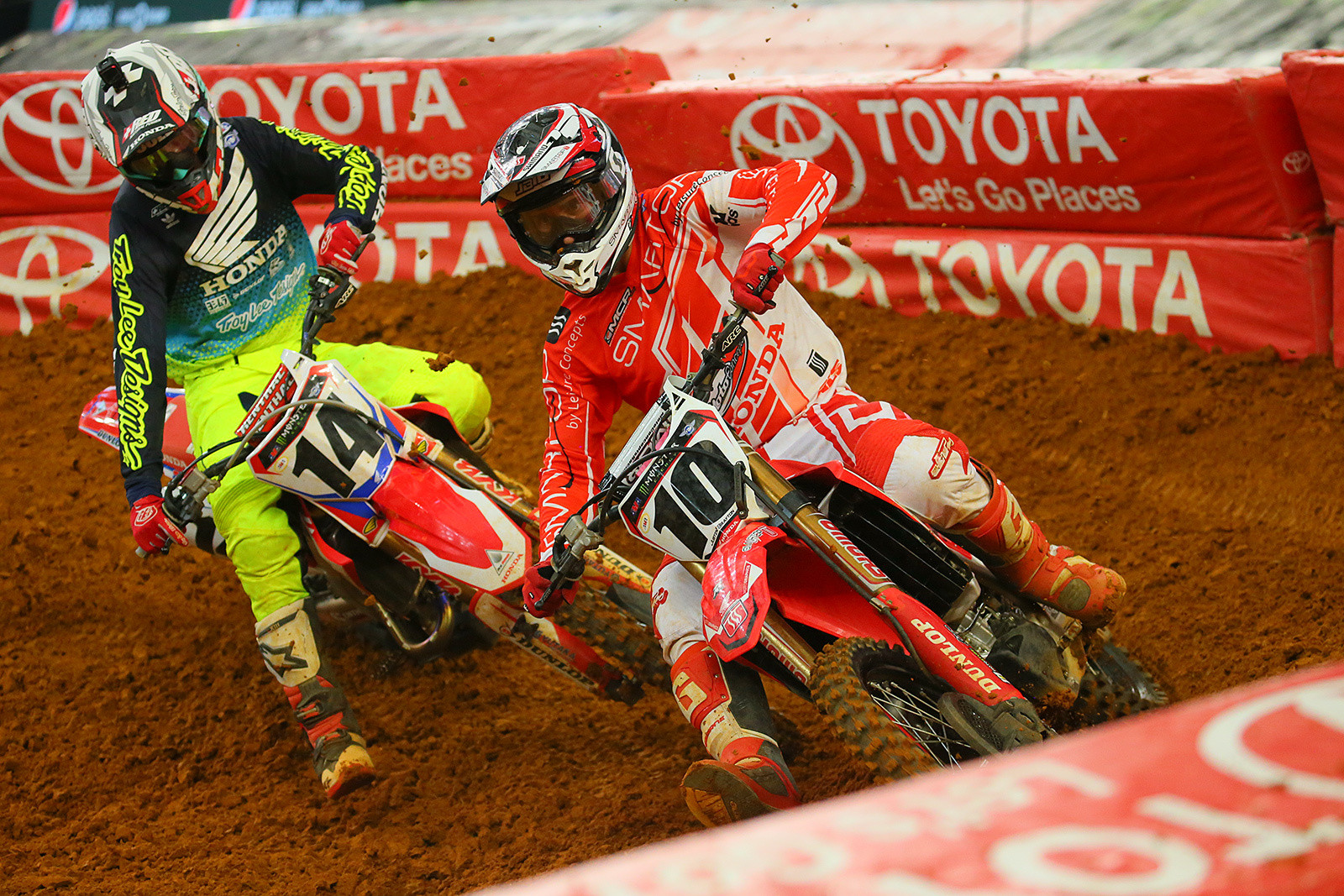 Justin Brayton and Cole Seely - Photo Blast: Arlington - Motocross Pictures - Vital MX