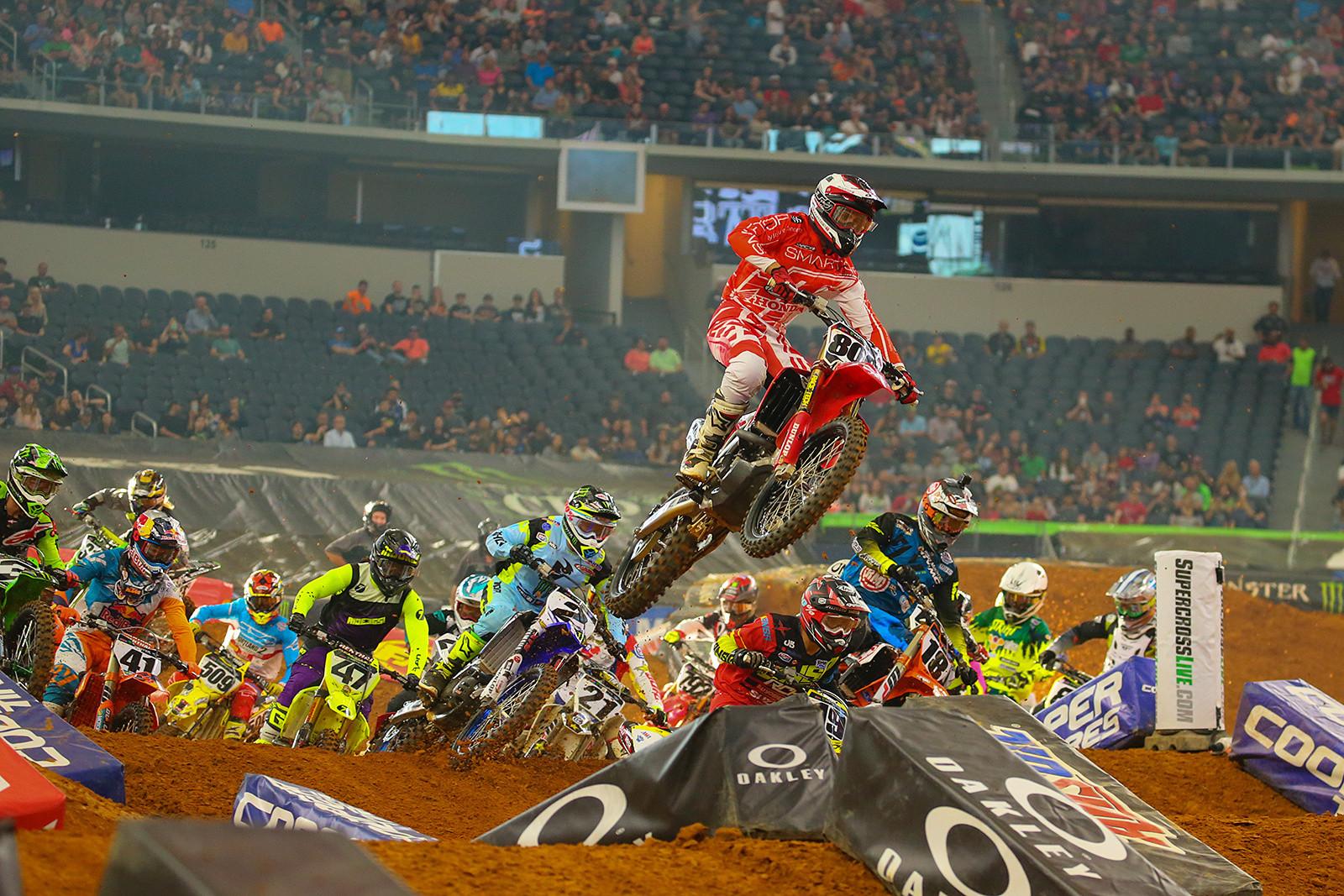450 Heat Race Two - Photo Blast: Arlington - Motocross Pictures - Vital MX
