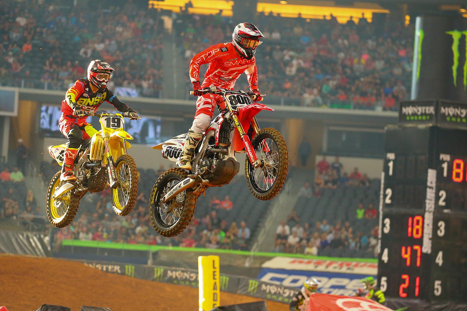 Mike Alessi and Justin Bogle - Photo Blast: Arlington - Motocross Pictures - Vital MX