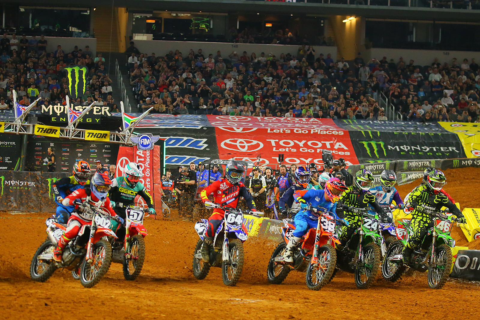 250 Main Event Start - Photo Blast: Arlington - Motocross Pictures - Vital MX