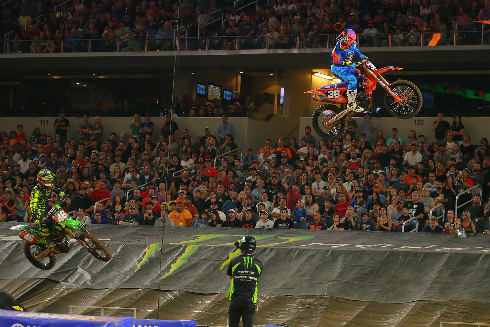Shane McElrath and Justin Hill - Photo Blast: Arlington - Motocross Pictures - Vital MX
