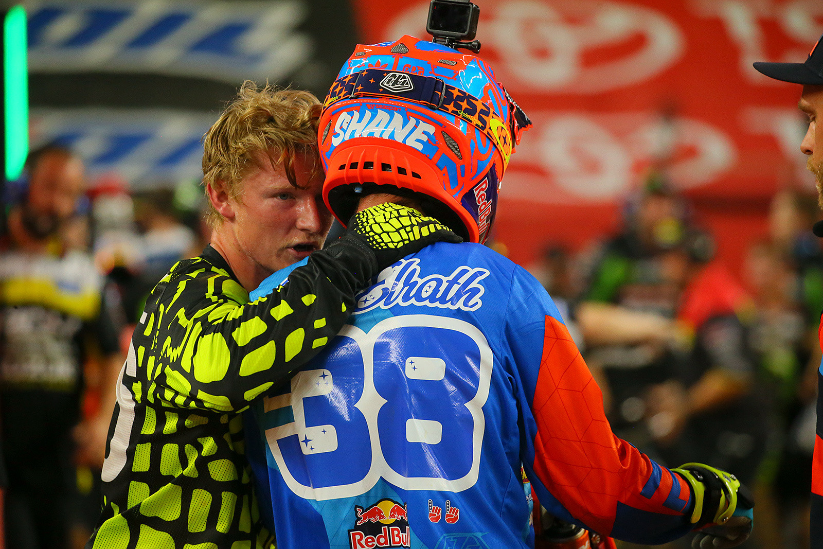Justin Hill and Shane McElrath - Photo Blast: Arlington - Motocross Pictures - Vital MX