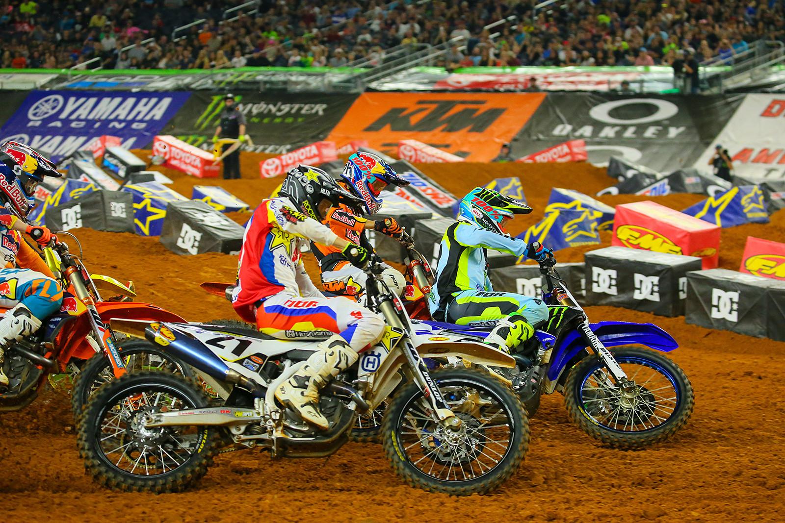 Marvin Musquin, Cooper Webb, and Jason Anderson - Photo Blast: Arlington - Motocross Pictures - Vital MX