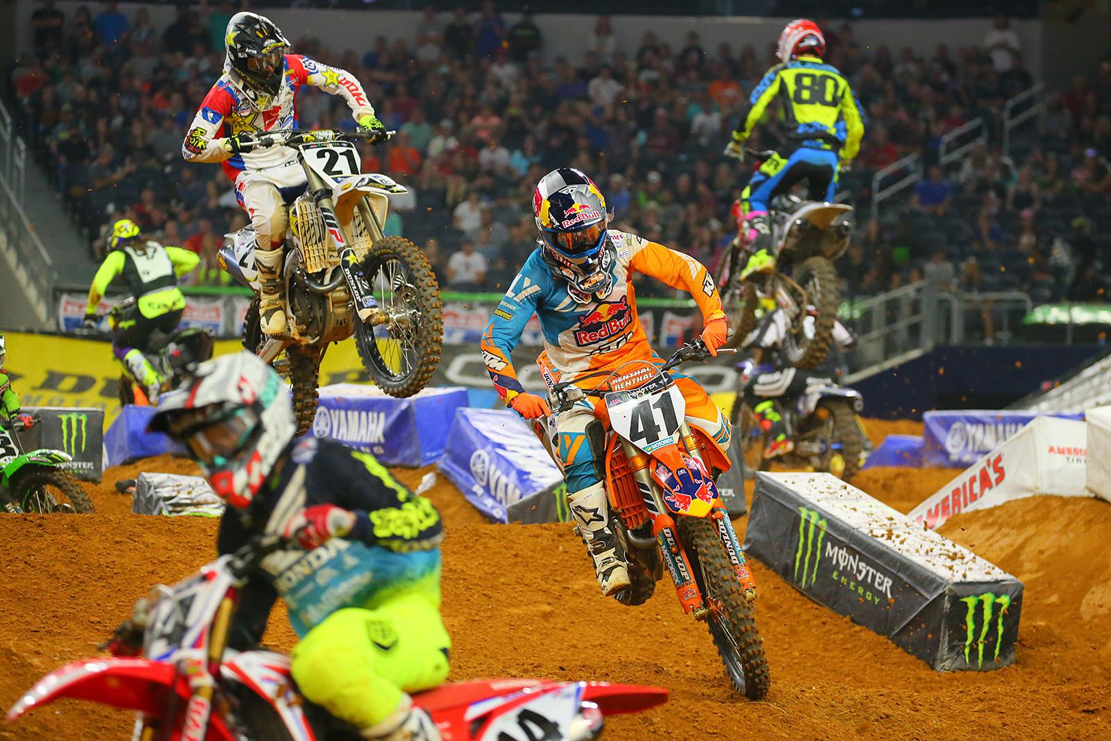 Trey Canard and Jason Anderson - Photo Blast: Arlington - Motocross Pictures - Vital MX