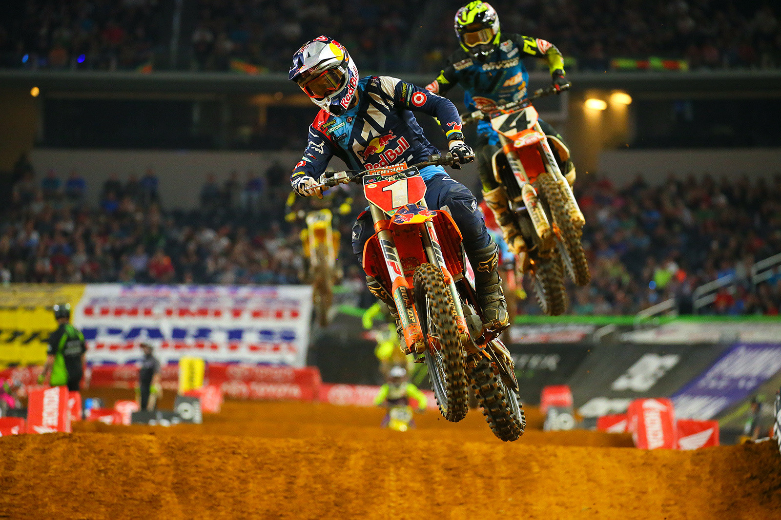 Ryan Dungey and Blake Baggett - Photo Blast: Arlington - Motocross Pictures - Vital MX