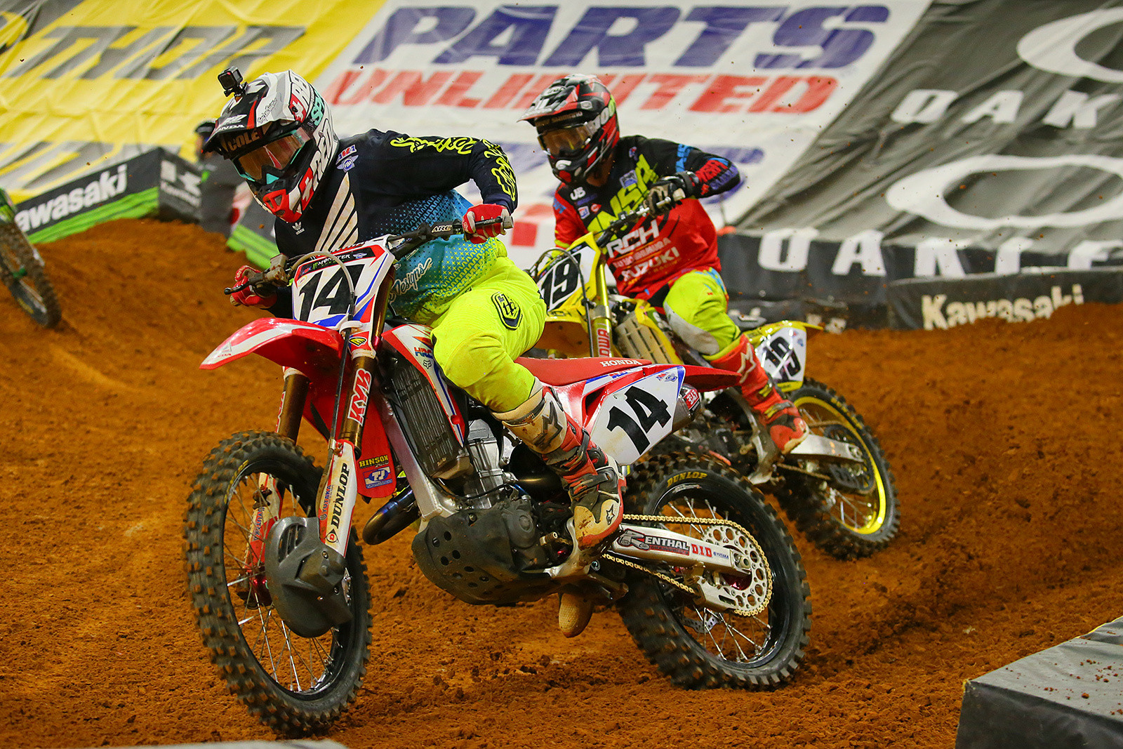 Cole Seely and Justin Bogle - Photo Blast: Arlington - Motocross Pictures - Vital MX