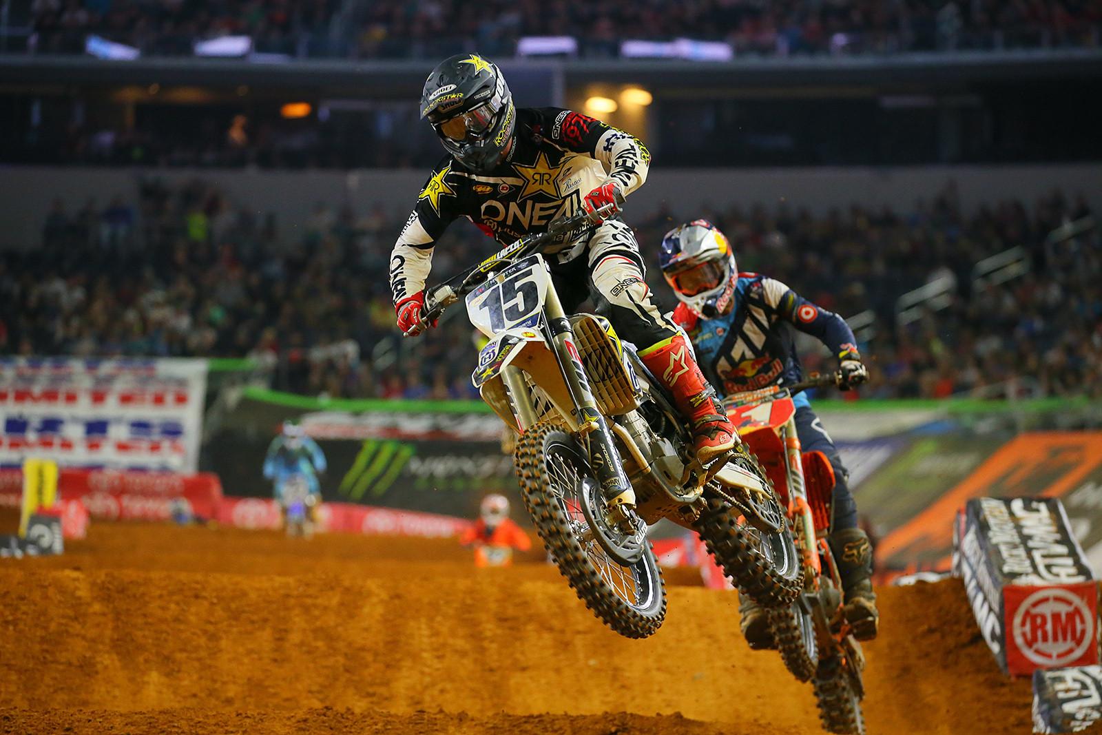 Dean Wilson and Ryan Dungey - Photo Blast: Arlington - Motocross Pictures - Vital MX