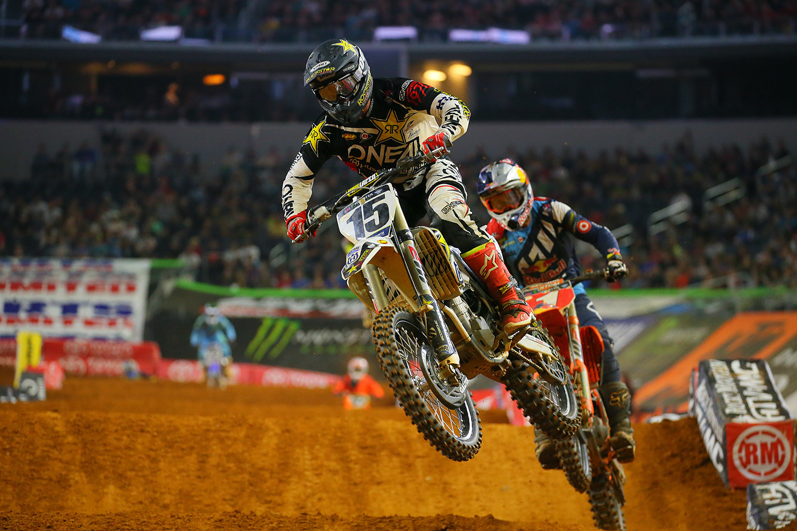 Dean Wilson and Ryan Dungey - Photo Blast: Arlington - Motocross Pictures - Vital MX