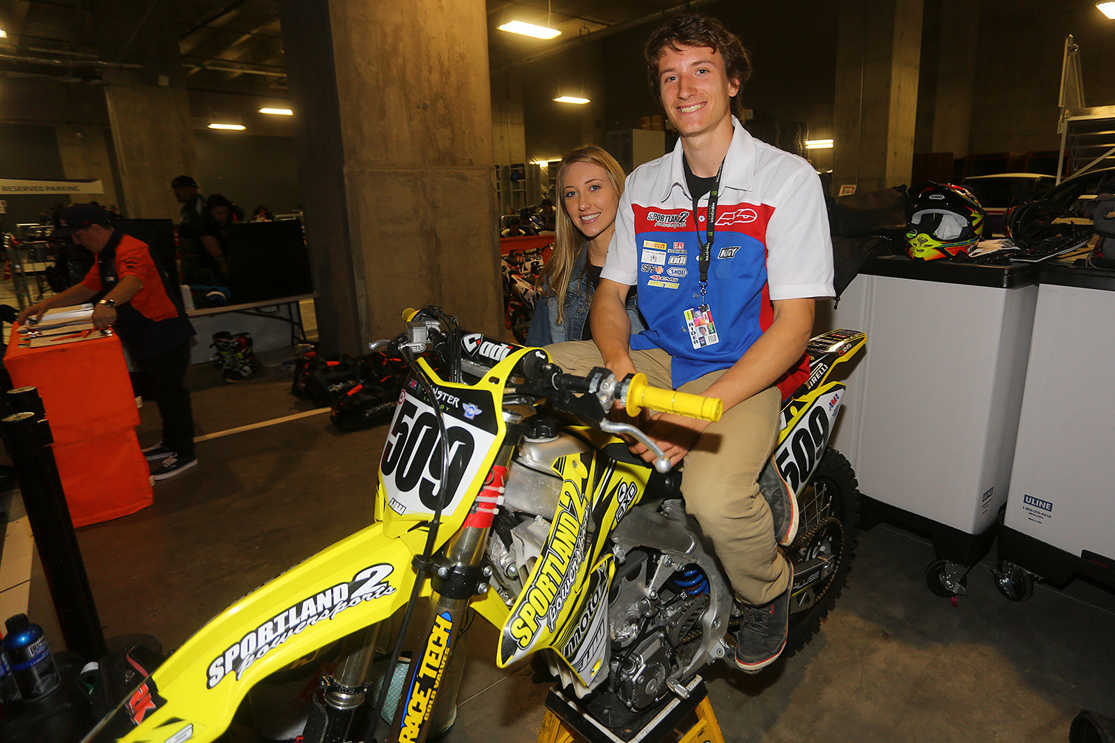 Alex Nagy - Vital MX Pit Bits: Minneapolis - Motocross Pictures - Vital MX