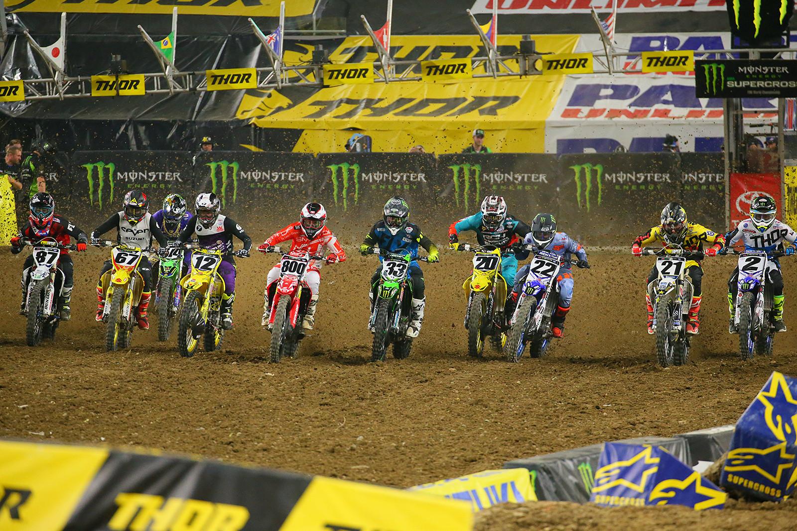 450 Heat Two Start - Photo Blast: Minneapolis - Motocross Pictures - Vital MX