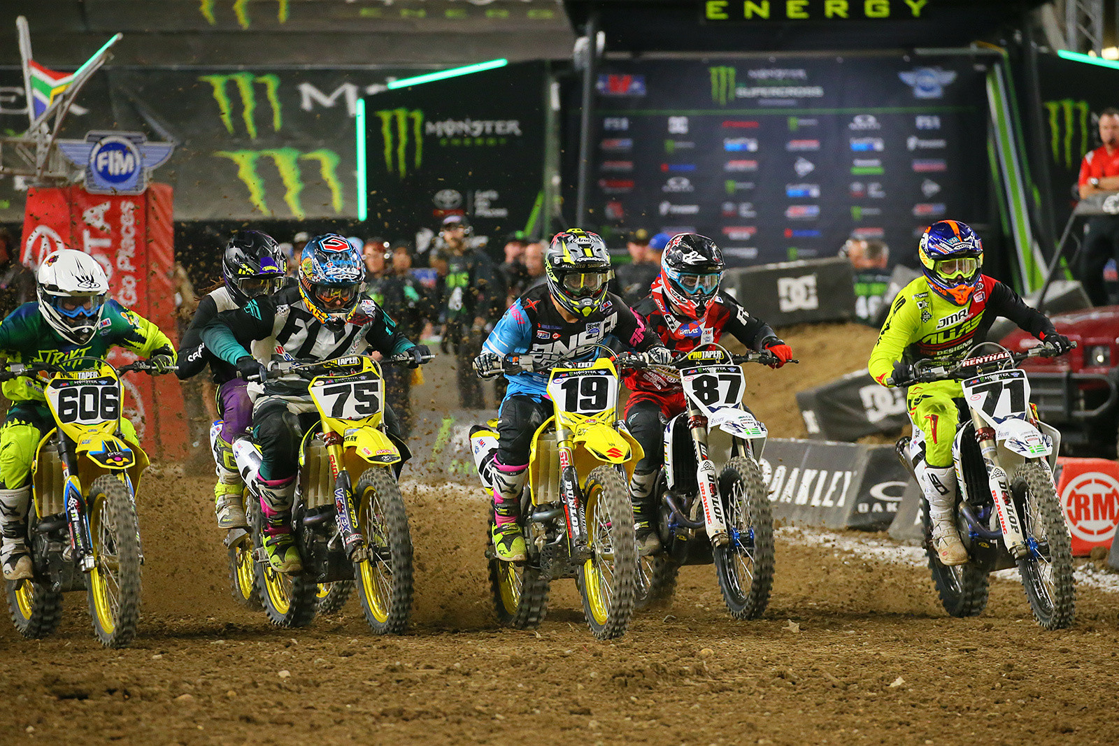 Ronnie Stewart, Nick Schmidt, Justin Bogle, Chris Howell, and Justin Starling - Photo Blast: Minneapolis - Motocross Pictures - Vital MX