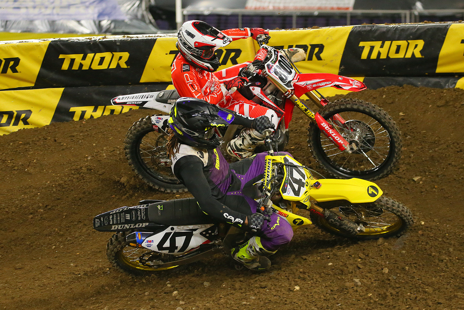 Malcolm Stewart and Mike Alessi - Photo Blast: Minneapolis - Motocross Pictures - Vital MX