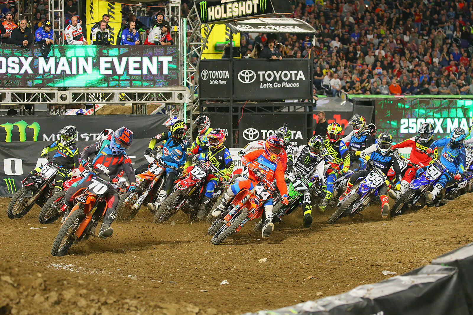 250 Main Event Start - Photo Blast: Minneapolis - Motocross Pictures - Vital MX