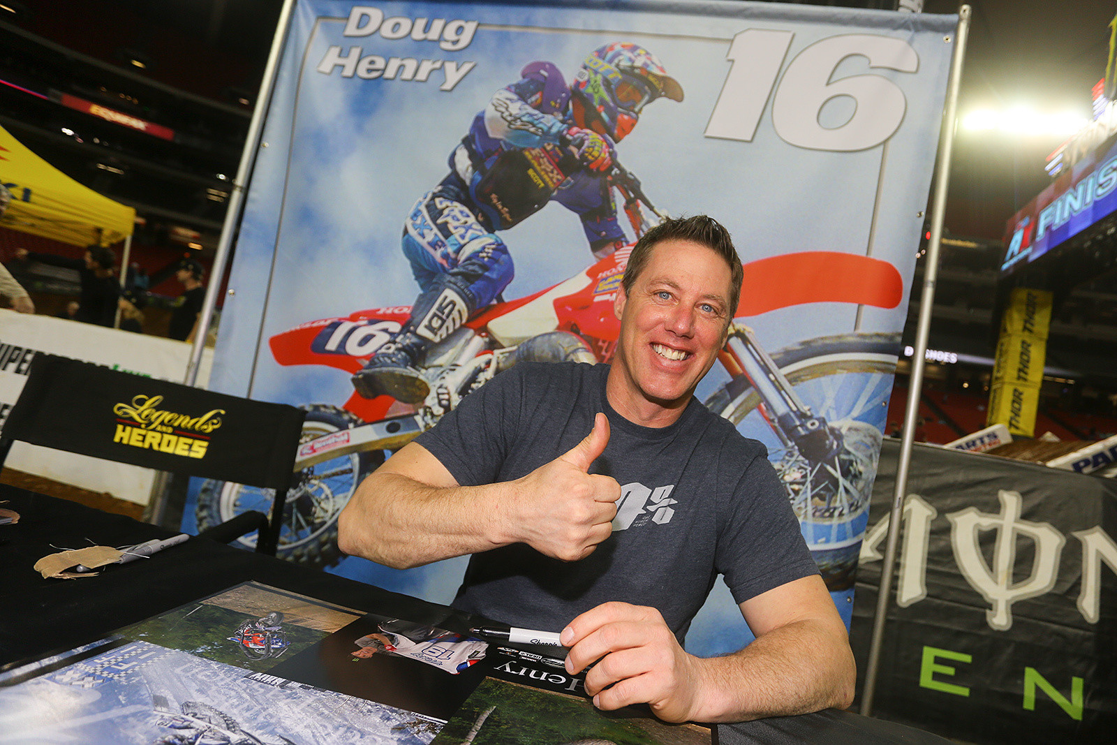 Doug Henry - Photo Blast: Atlanta Arenacross - Motocross Pictures - Vital MX