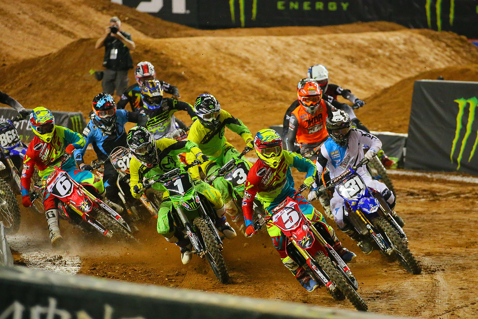 250 AX Heat One Start - Photo Blast: Atlanta Arenacross - Motocross Pictures - Vital MX