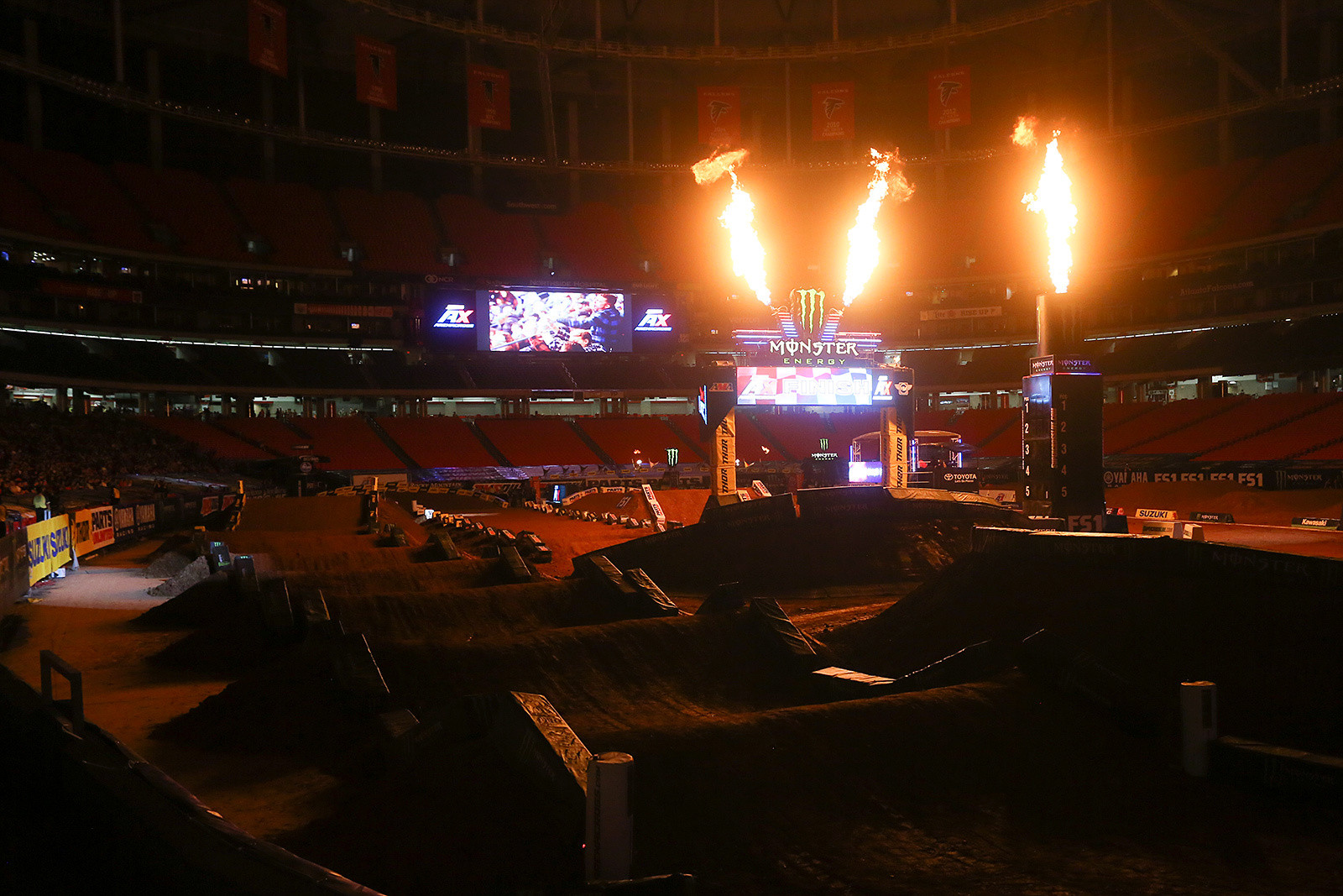 Georgia Dome - Photo Blast: Atlanta Arenacross - Motocross Pictures - Vital MX