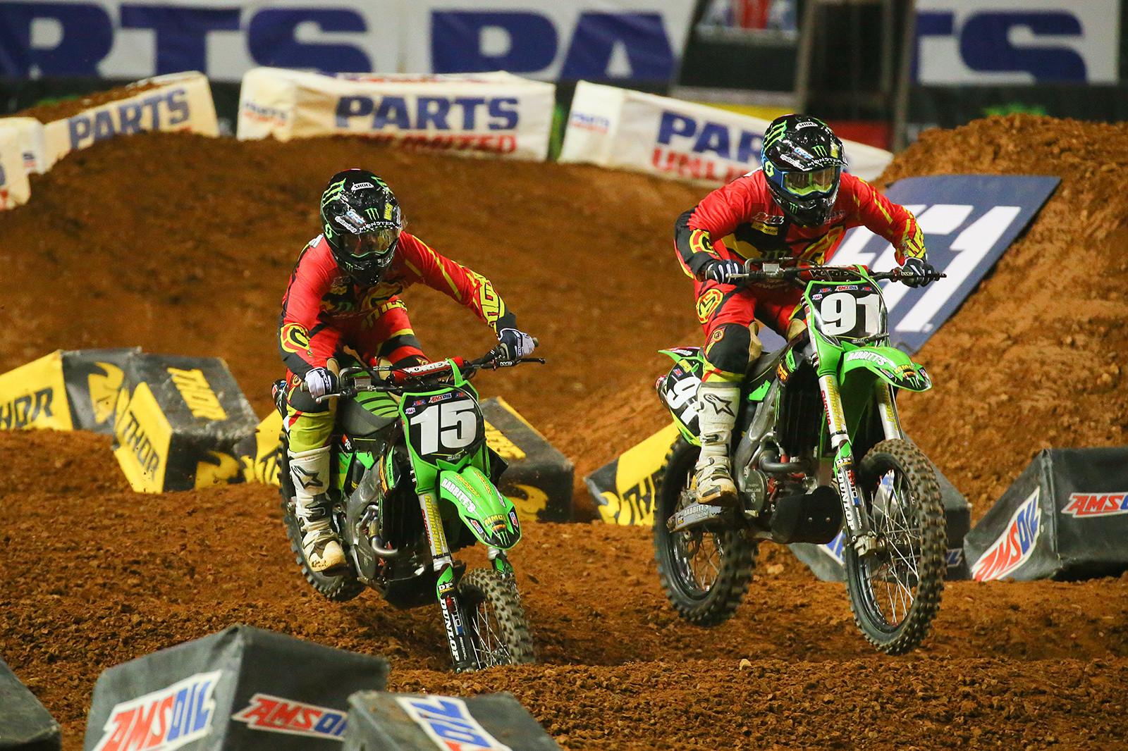 Ryan Breece and Jacob Williamson - Photo Blast: Atlanta Arenacross - Motocross Pictures - Vital MX