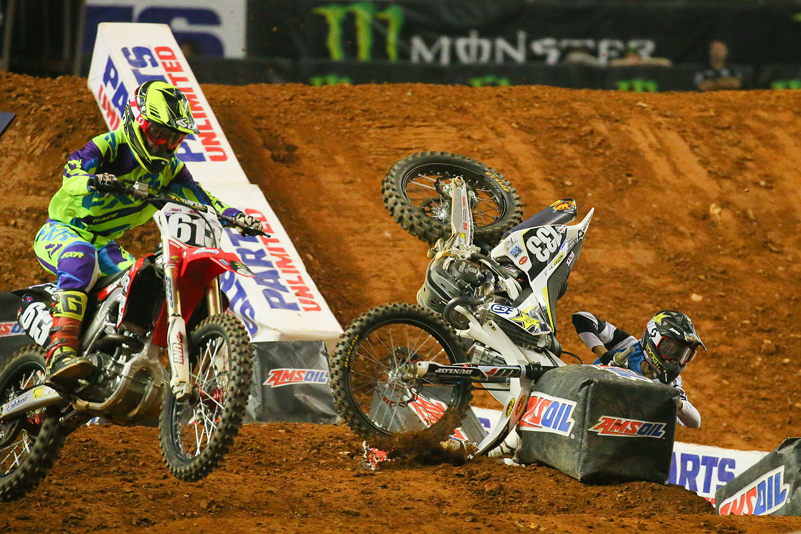 Jordan Bailey - Photo Blast: Atlanta Arenacross - Motocross Pictures - Vital MX