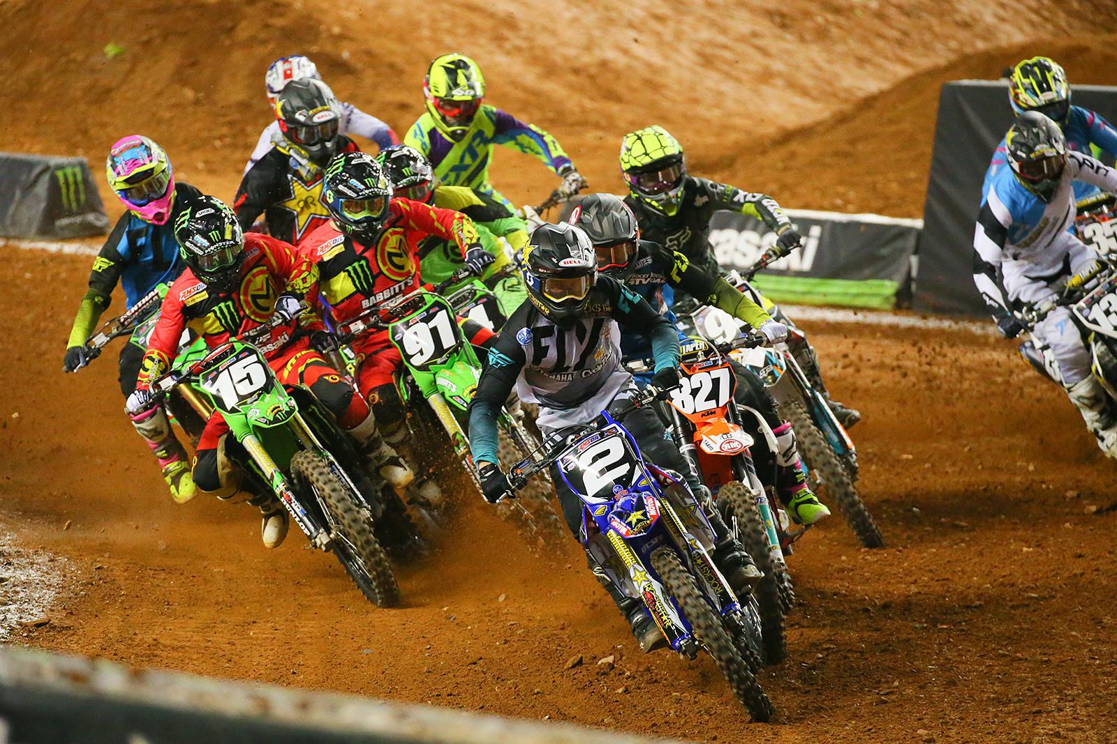 250 AX Heat Two Start - Photo Blast: Atlanta Arenacross - Motocross Pictures - Vital MX
