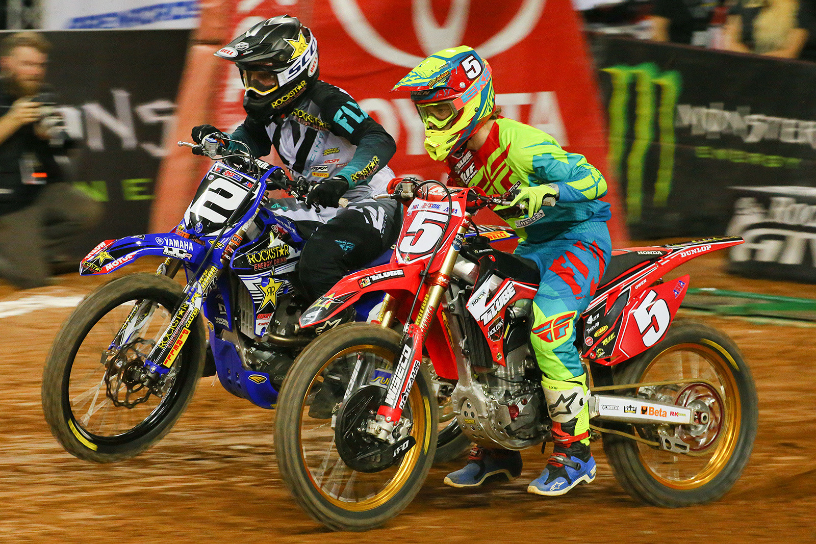 Chris Blose and Jace Owen  - Photo Blast: Atlanta Arenacross - Motocross Pictures - Vital MX