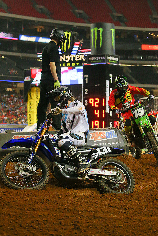 Jayce Pennington - Photo Blast: Atlanta Arenacross - Motocross Pictures - Vital MX