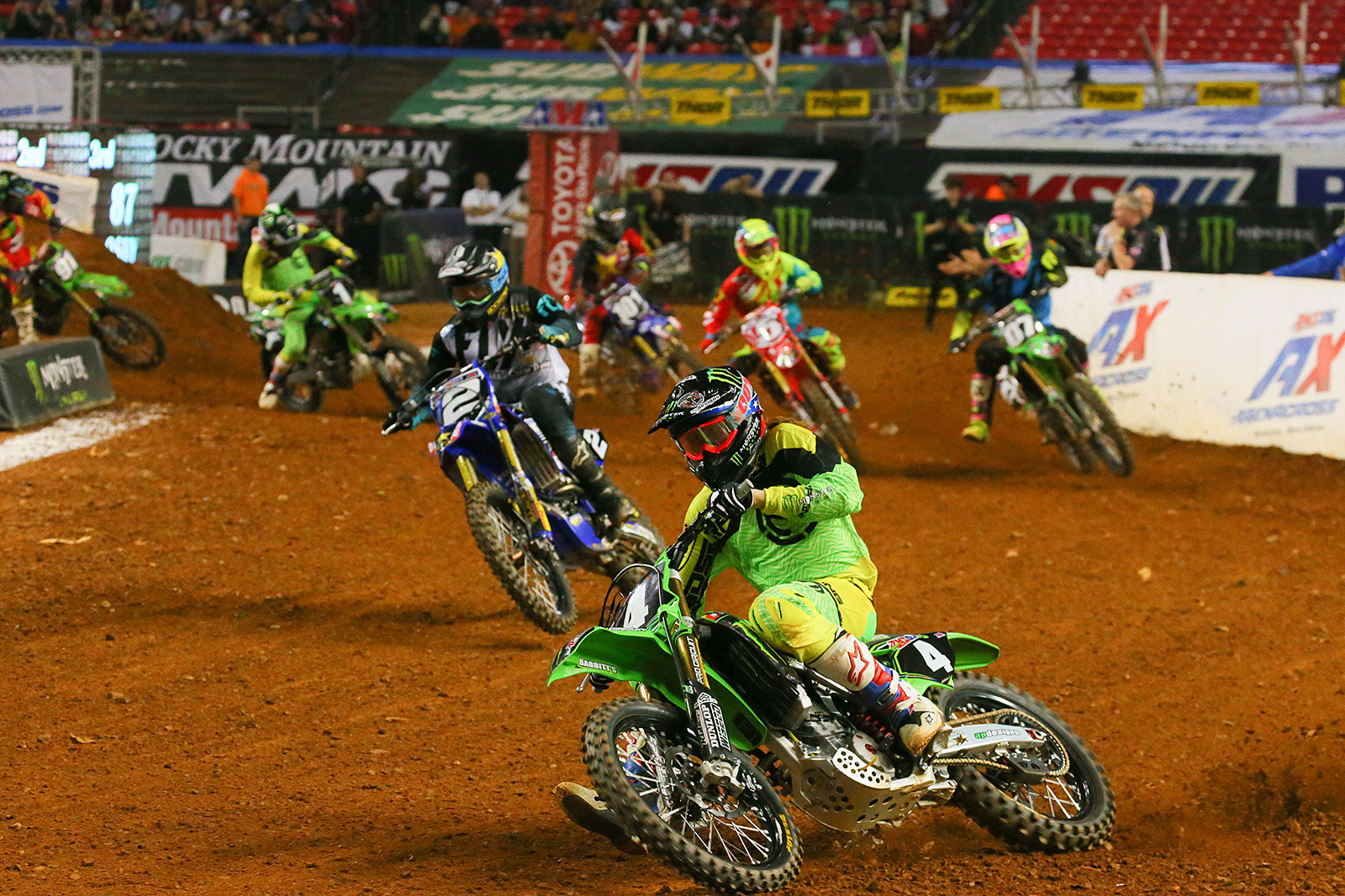Gared Steinke - Photo Blast: Atlanta Arenacross - Motocross Pictures - Vital MX