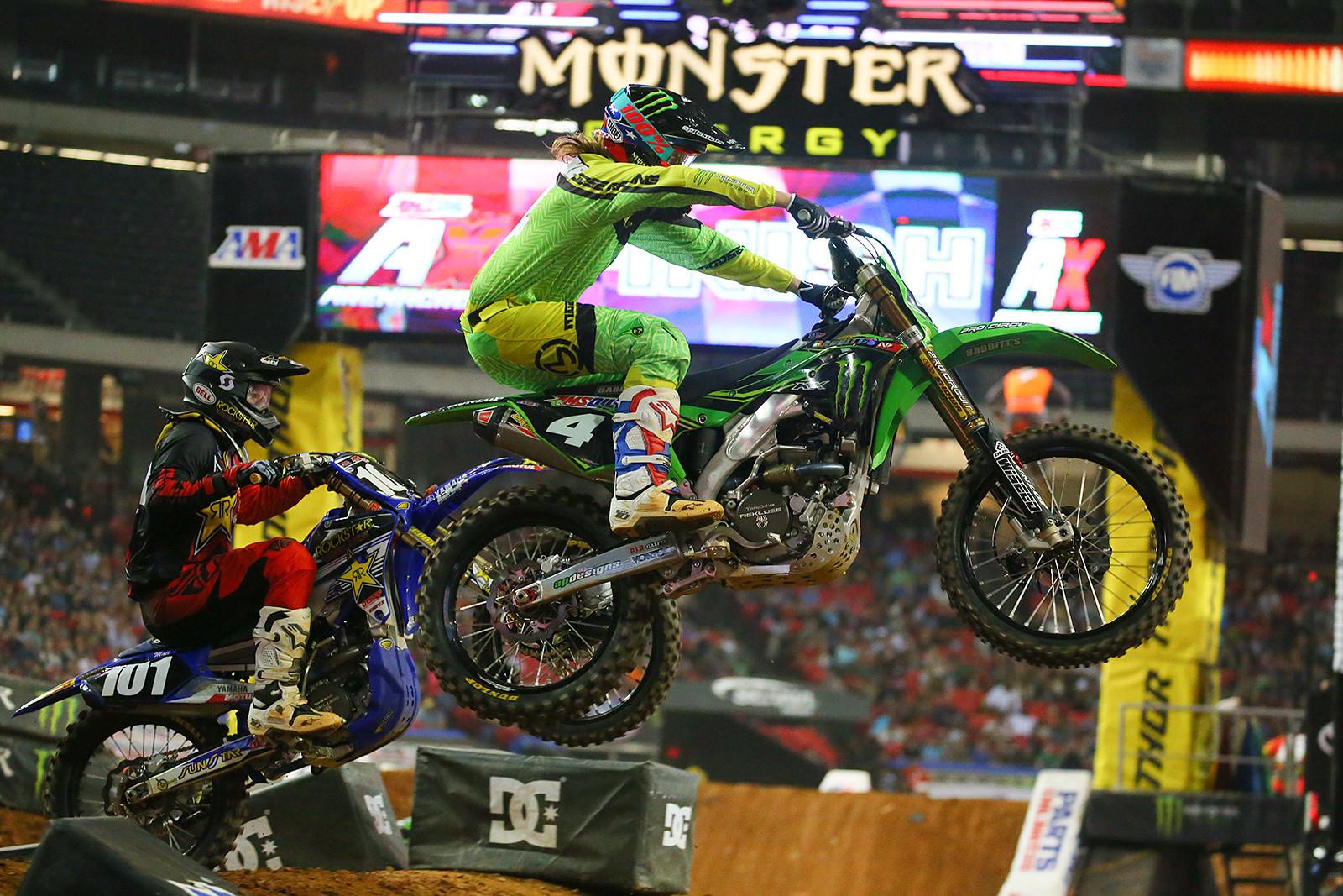 Matt Goerke and Gared Steinke - Photo Blast: Atlanta Arenacross - Motocross Pictures - Vital MX
