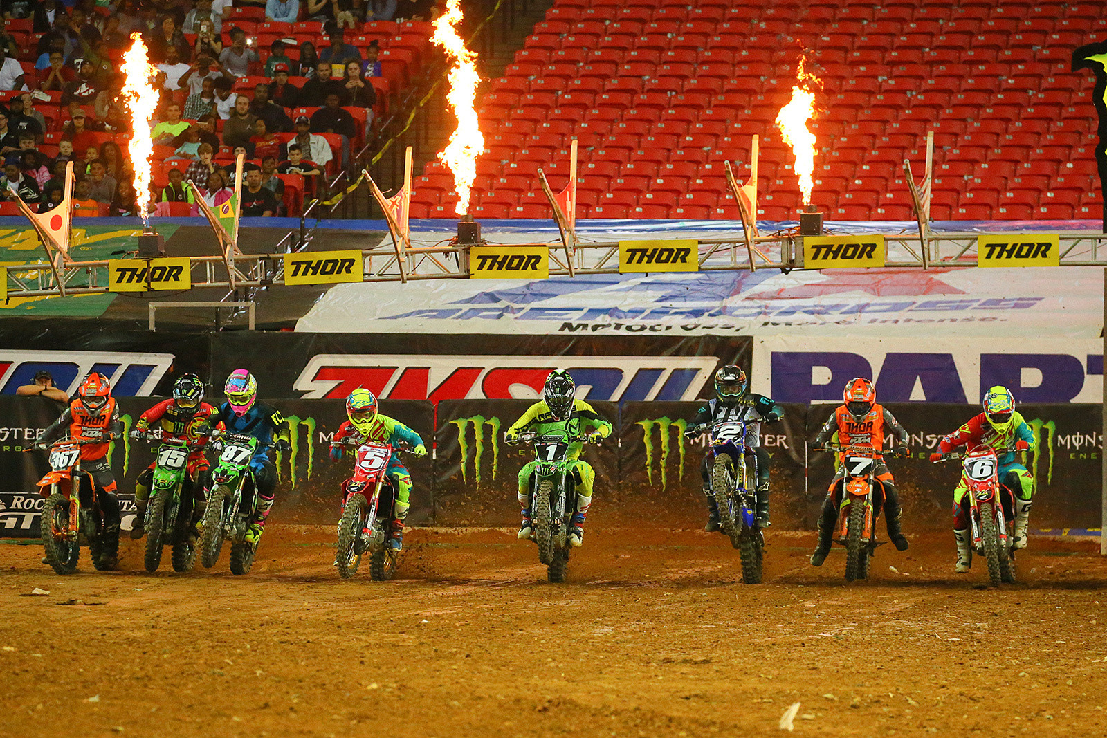 250AX Class Mains - Photo Blast: Atlanta Arenacross - Motocross Pictures - Vital MX