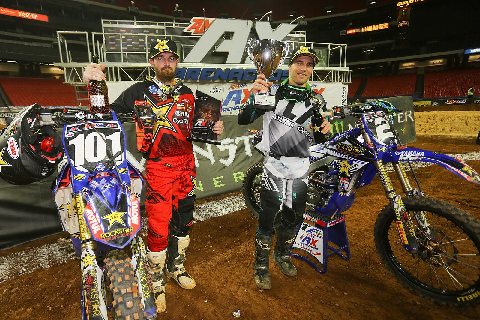 Chris Blose and Matt Goerke - Photo Blast: Atlanta Arenacross - Motocross Pictures - Vital MX