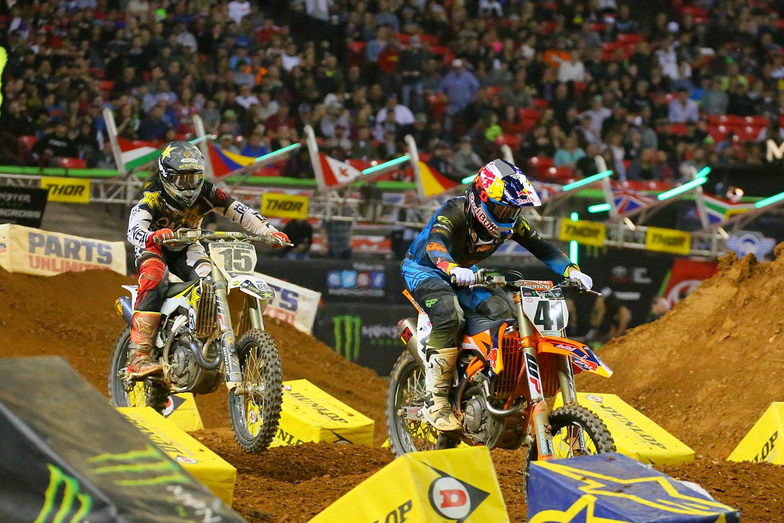 Dean Wilson and Trey Canard - Photo Blast: Atlanta Supercross - Motocross Pictures - Vital MX