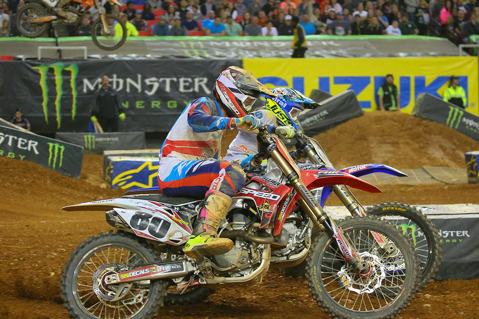 Cade Clason and Scott Champion - Photo Blast: Atlanta Supercross - Motocross Pictures - Vital MX