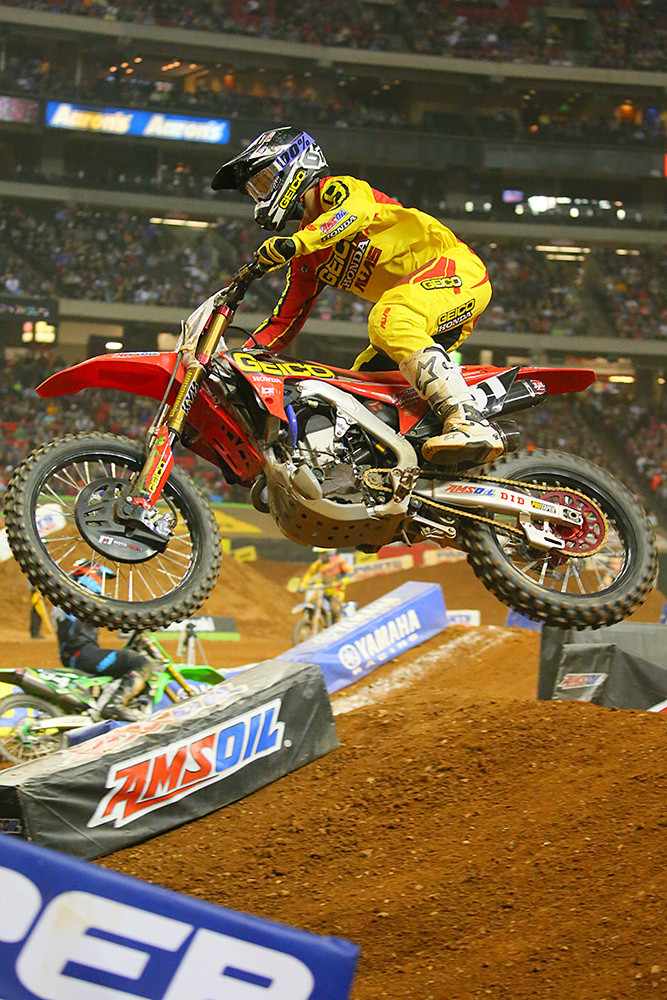 RJ Hampshire - Photo Blast: Atlanta Supercross - Motocross Pictures - Vital MX