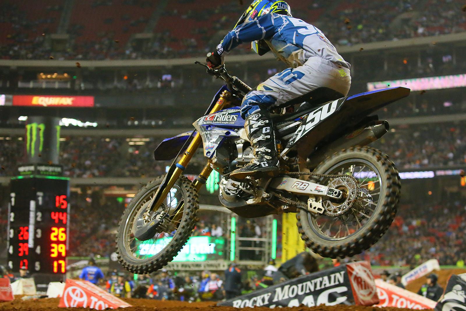 Luke Renzland - Photo Blast: Atlanta Supercross - Motocross Pictures - Vital MX