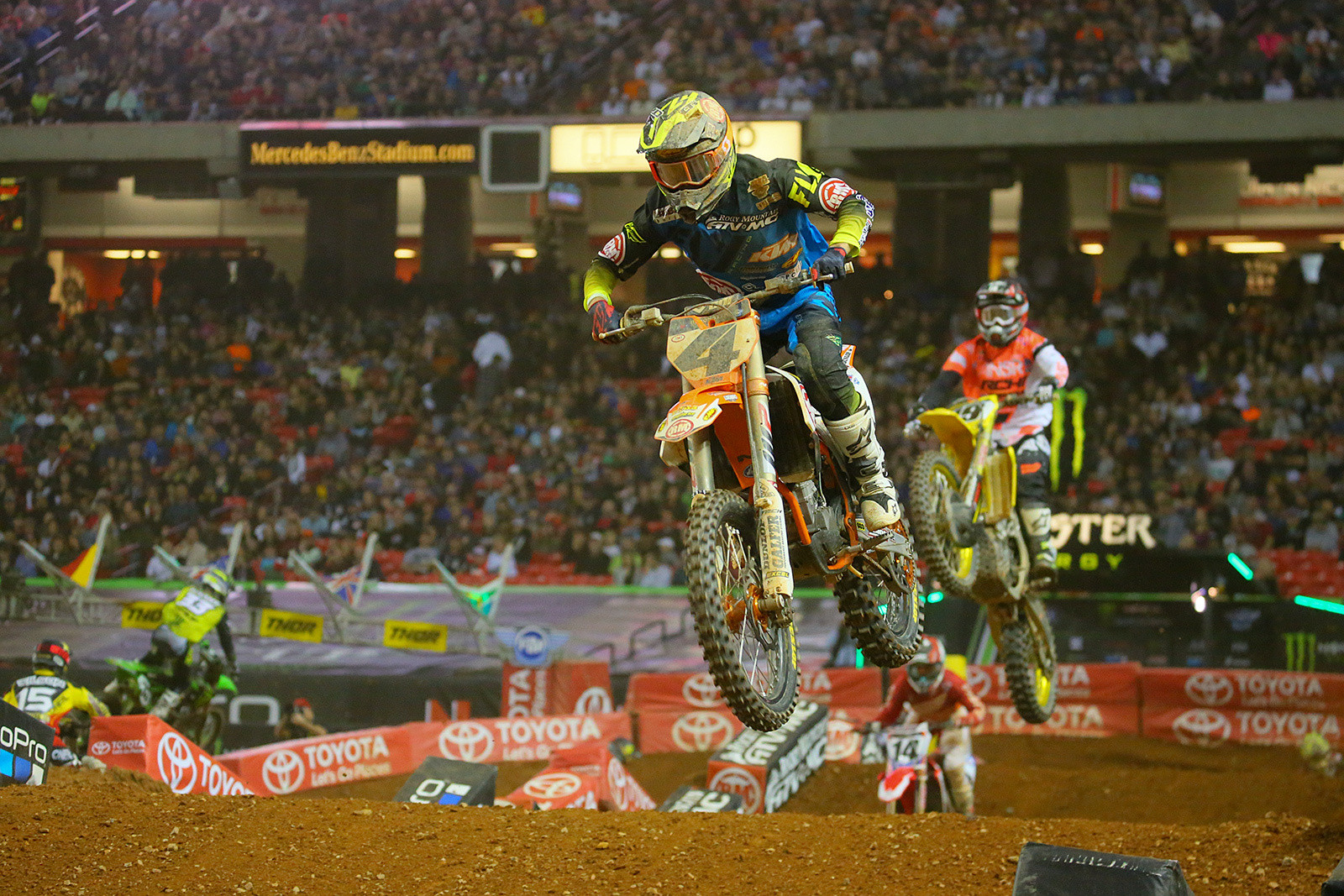 Blake Baggett - Photo Blast: Atlanta Supercross - Motocross Pictures - Vital MX