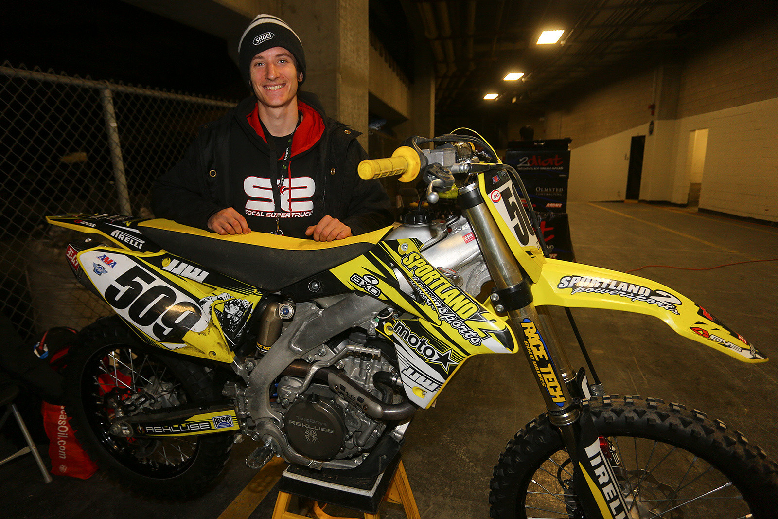 Alex Nagy - Vital MX Pit Bits: Toronto - Motocross Pictures - Vital MX