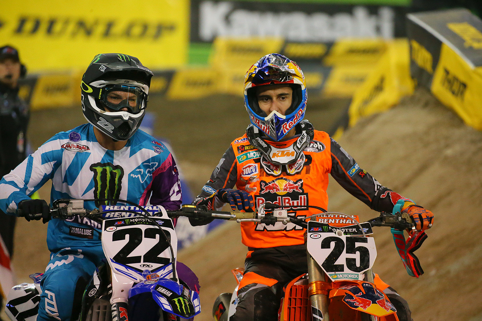 Chad Reed and Marvin Musquin - Vital MX Pit Bits: Toronto - Motocross Pictures - Vital MX