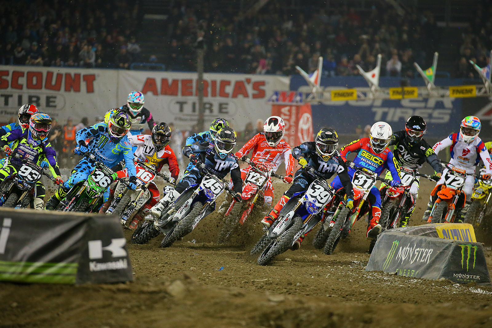 250 Heat Two Start - Photo Blast: Toronto - Motocross Pictures - Vital MX